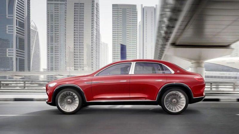Mercedes-Maybach Ultimate Luxury вид сбоку