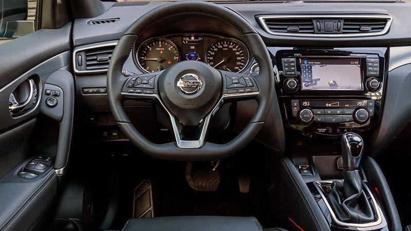 Салон нового Nissan Qashqai