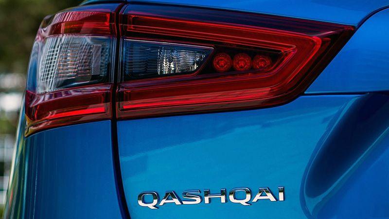 Задняя оптика Nissan Qashqai 2018