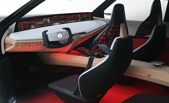 Салон Nissan Xmotion Concept