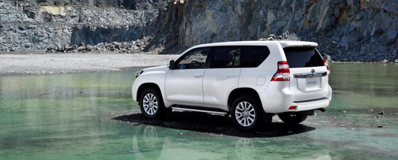 Новый Land Cruiser Prado 2014 года