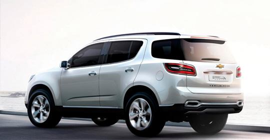 Chevrolet Trailblazer 2015 - фото, цены и характеристики