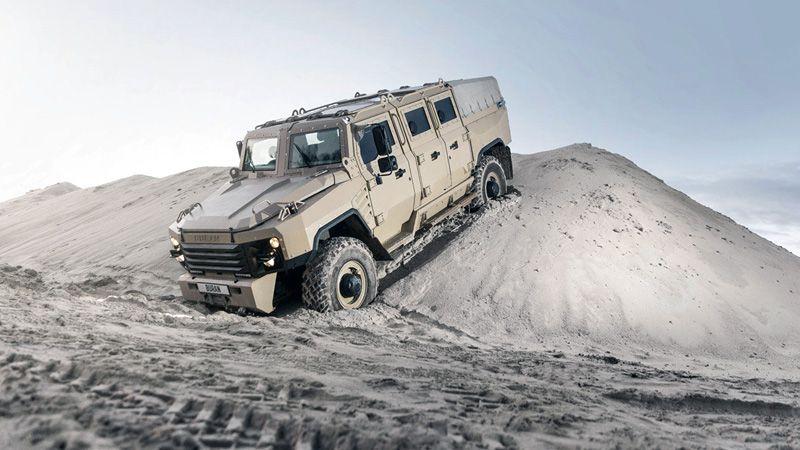 Бронеавтомобиль Буран