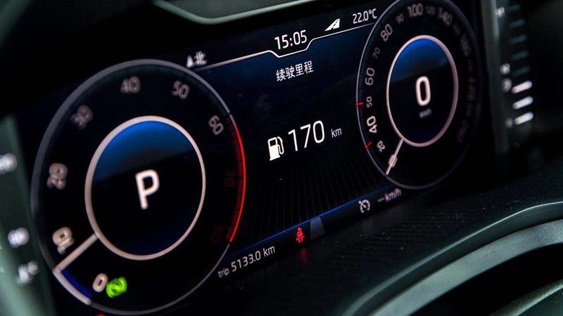 Приборная панель Skoda Kodiaq GT Coupe