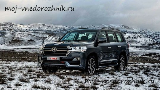Toyota Land Cruiser 200 TRD 2019