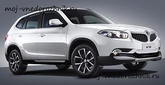 Brilliance V5 2017 фото