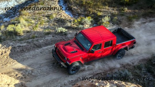 Новый пикап Jeep Gladiator Rubicon