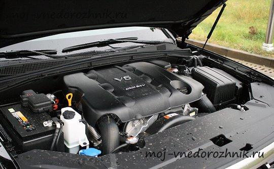 Двигатель нового Kia Mohave