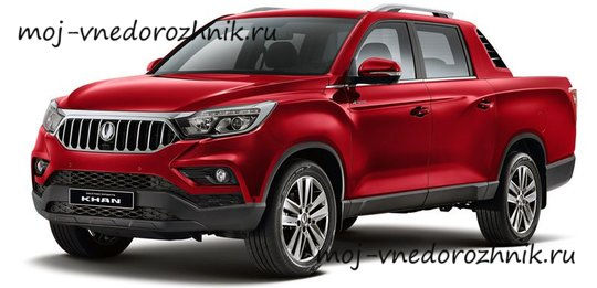 SsangYong Rexton Sports Khan 2019