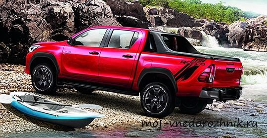 Toyota Hilux Rocco 2018 фото