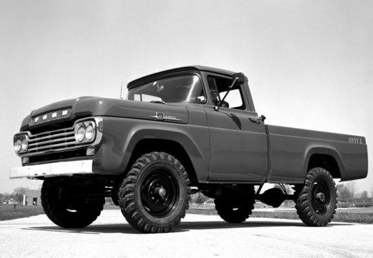 Классический пикап Форд