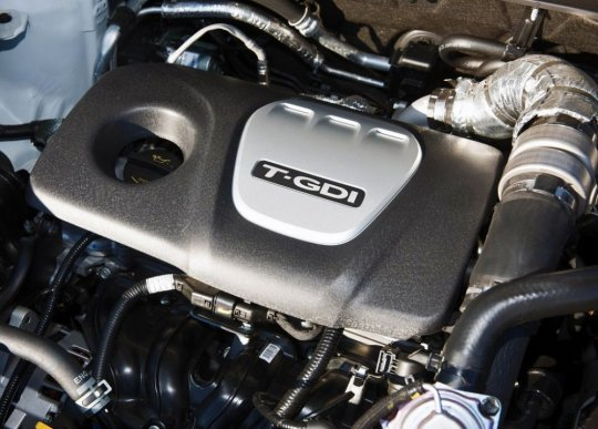 Двигатель обновленного кроссовера Киа Спортейдж 2016 фото