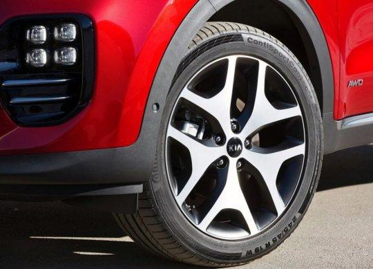 Новый дизайн Kia Sportage 2016