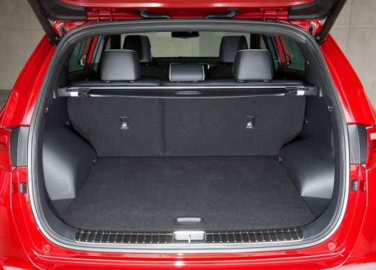 Багажник нового Киа Спортейдж 2016 фото
