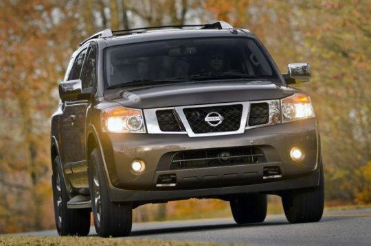 Фото внедорожника Nissan Armada