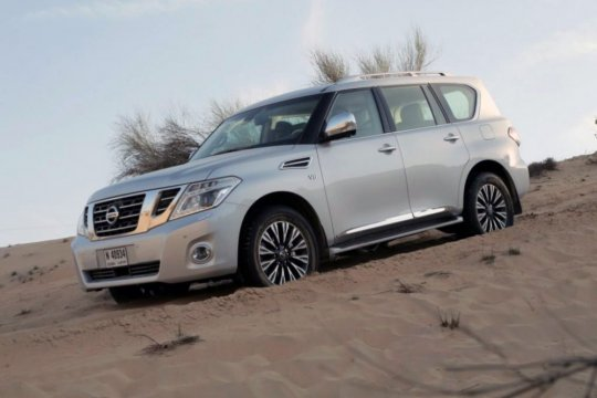 Внедорожник Nissan Patrol 2015