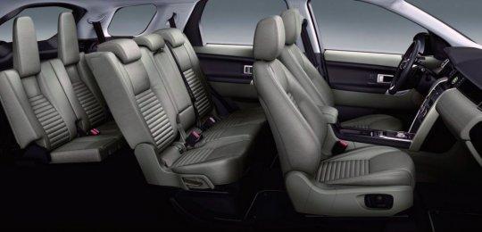 Range Rover Sport внутри