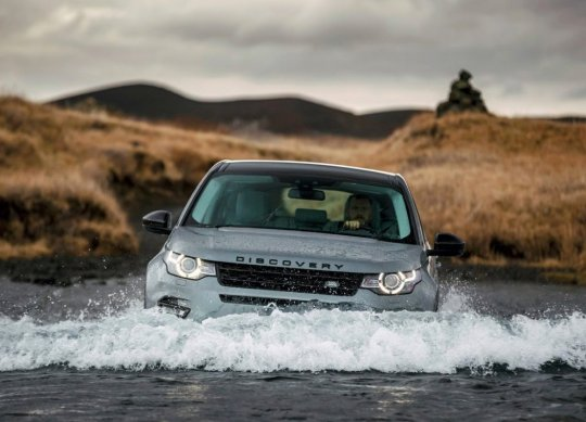 Range Rover Sport 2015 на бездорожье