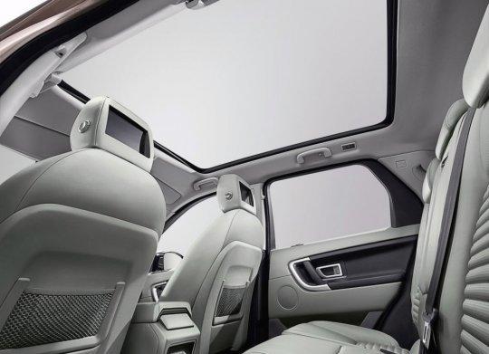 Range Rover Sport 2015 фото салона