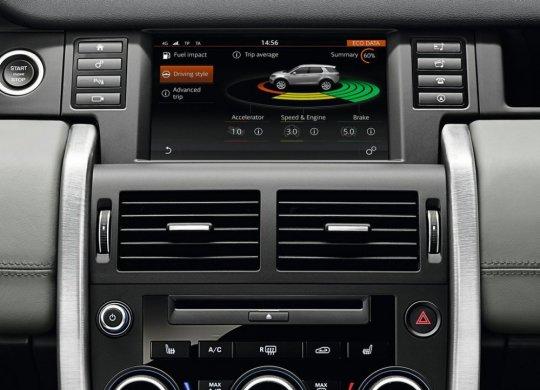 Range Rover Sport 2015 мультимедия