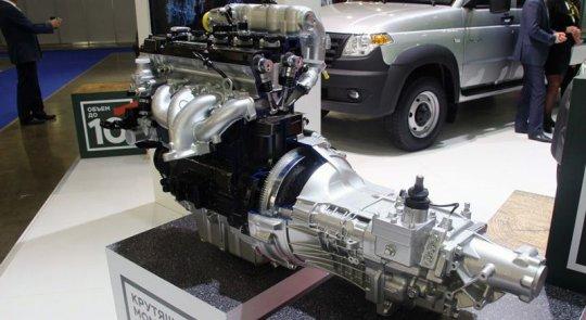 Двигатель УАЗ Профи 2017