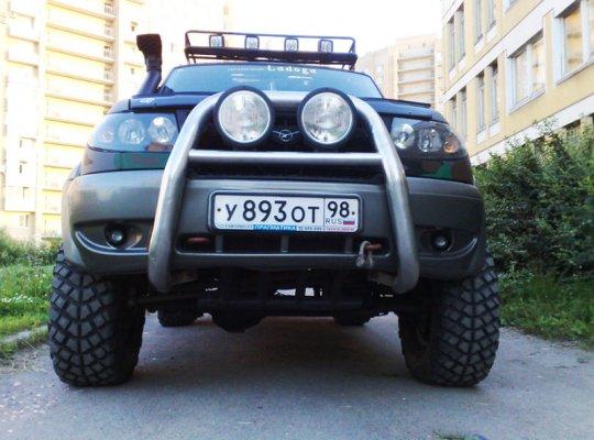 UAZ Patriot тюнинг фото 10