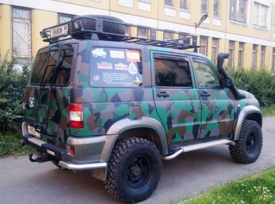 UAZ Patriot тюнинг фото 14