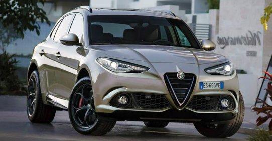 Alfa Romeo Stelvio - первый кроссовер компании