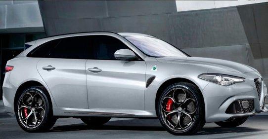 Alfa Romeo в 2017 году представит обновленный Stelvio