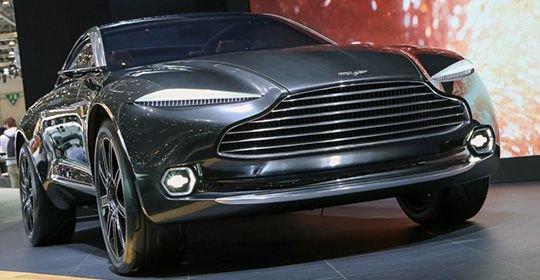 Первый кроссовер Aston Martin начнуть собирать в 2019