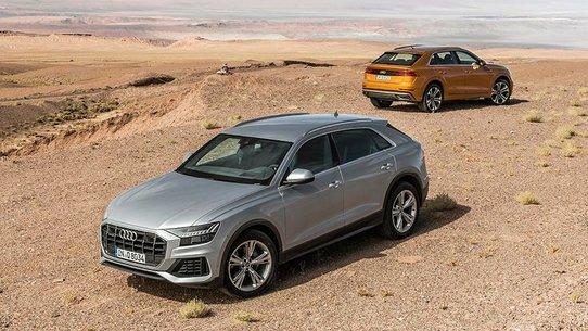 Audi Q8 дизель: цена в России от 4 млн 990 тысяч ₽