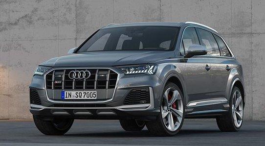 Новый Audi SQ7: максимальный крутящий момент (900 Нм) уже с 1000 об/мин