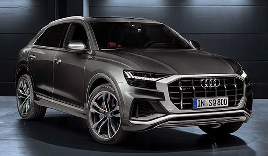 Новый кроссовер Audi SQ8: до сотни за 4,8 секунды