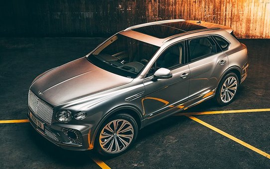 Рестайлинговый Bentley Bentayga: новая внешка и старая начинка