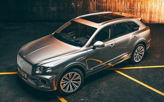 Рестайлинговый Bentley Bentayga: новая внешка и старая начинка
