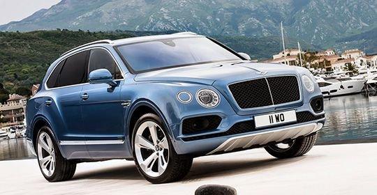 Bentley Bentayga Diesel появился в России