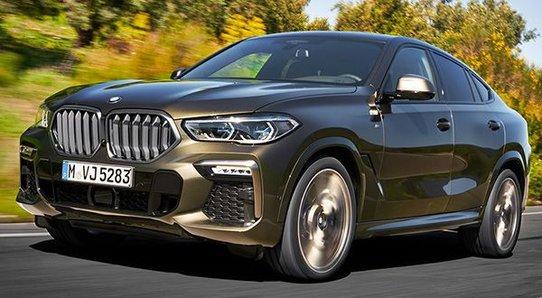 Третье поколение BMW X6 (G06)