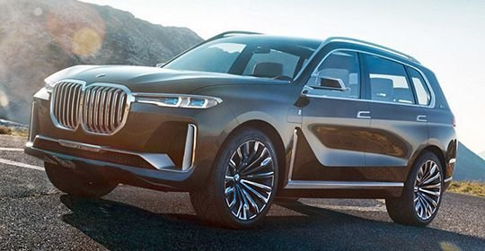 BMW X7: фото, характеристики и дата выхода