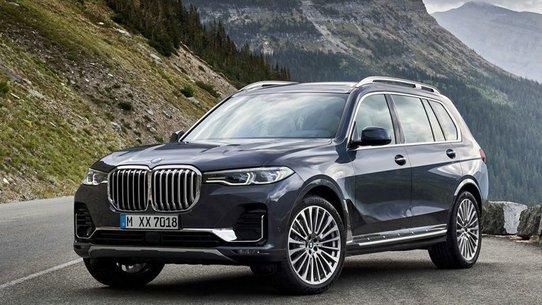 BMW x7: цена в России и дата выхода