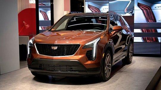 Cadillac XT4 2018: фото и характеристики