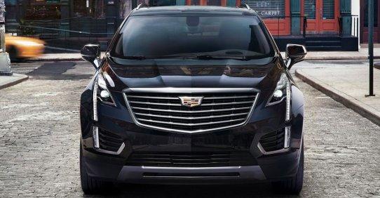Объявлены цены на Cadillac XT5 2017 в России