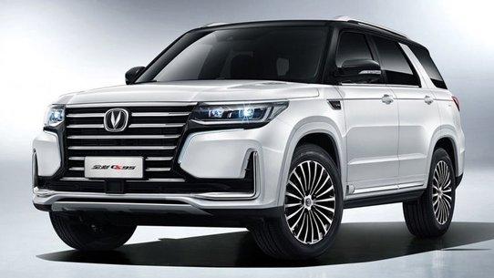 Кроссовер Changan CS95 2019: смесь Lexus и Range Rover