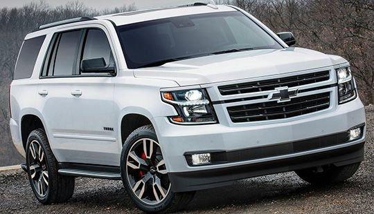 Chevrolet Tahoe RST: фото и характеристики