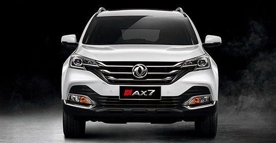 Обновленный Dongfeng AX7 появился в Китае