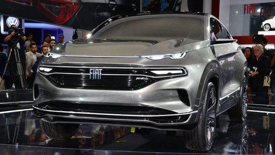 Fiat показал купеобразный кроссовер Fastback