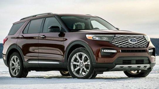 Форд Эксплорер 2019: новый кузов, задний привод и поперечное расположение мотора