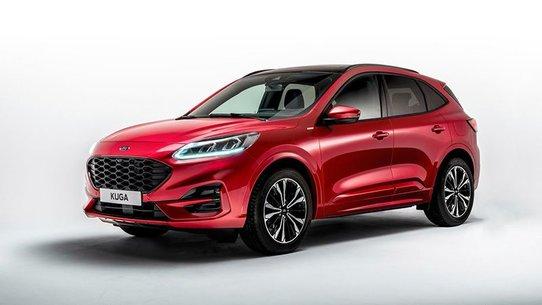 Ford Kuga 2019: новый кузов, гибридные версии, в России не купить