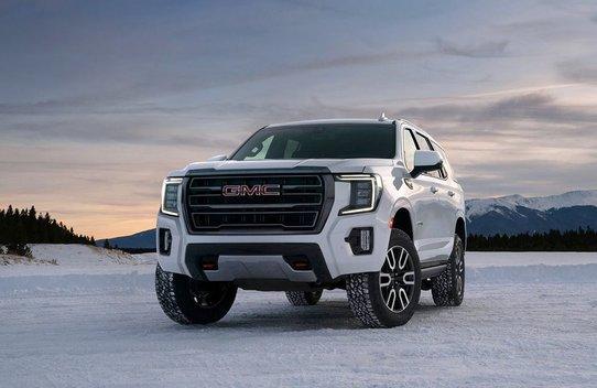 Новый внедорожник GMC Yukon