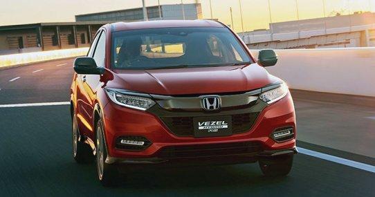 Honda Vezel: фото обновленного кроссовера