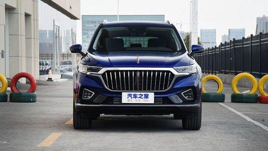Hongqi HS5: третий кроссовер премиального китайского бренда